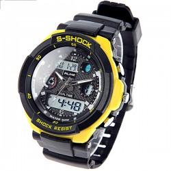 Relógio Natação Unisex Amarelo Varias Cores Digítal e Analógico