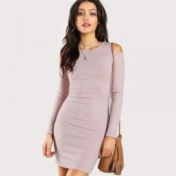 Plus Size Women's Clothing Elegant Style Long Sleeve