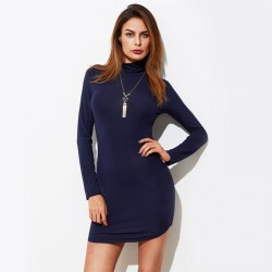 Women's Casual Dress Sexy Casual Long Sleeve Autumn Style