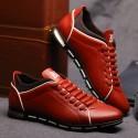 Sapatenis Social Masculino em Couro Amarelo Calçados Elegante Sapato Casual