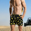 Short Banana Print Short Male Fashion Beach Summer Beach