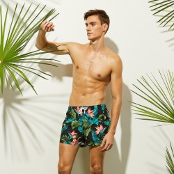 Men's Floral Blender Bermuda Tropical Flower Print