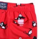 Men's Red Casual Blender Casual Print Penguin