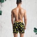 Men's Striped Floral Slim Bermuda Casual Summer Stylish