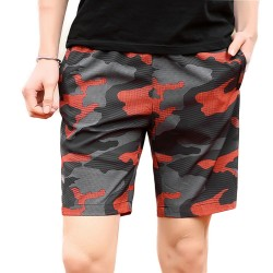 Bermuda Camouflage Print Army Men's Casual Style and Academy