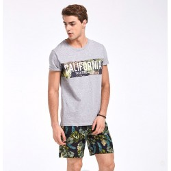 Bermuda Surfwear Men Casual Floral Print Fashion Summer Calitta