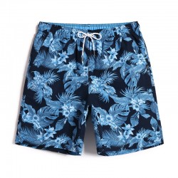 Hawaiian Bermuda Men Floral Print Summer Holidays