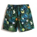 Men's Printed Flower Printed Palm Leaves and Tropical Flowers