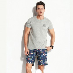 Men's Casual Cotton Bermuda Floral Print for Everyday Wear