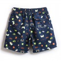 Carnival Short for Men Floral Print Street Dance Mix