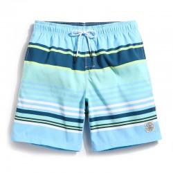 Short de Marinheiro Listrado Casual Moda Praia e Piscina para o Verão