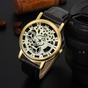Elegant Casual Watch Unisex Quartz Skeletal Sophisticated