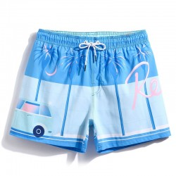 Short Men's Bathing Short of Sailor use in Summer Pool