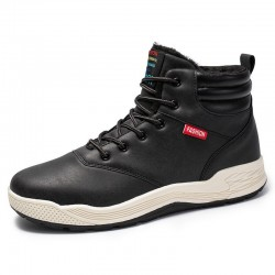 Sapatênis Bota Cano Male High Style White Sole Basketball Youth