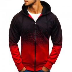 Men's Sweatshirt Degrade Ziper Jacket SWAG Style