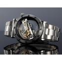 Relógio de Luxo Masculino Automático Manual Elegante Aço Inoxidável