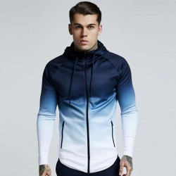 Men's Sportswear Pattern Degrade Fashion Winter Cycling