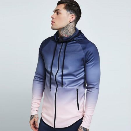 Men's Sportswear Pattern Degrade Fashion Winter Cycling