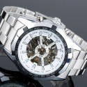 Watch Men's Casual Skeleton Chrome Big Box