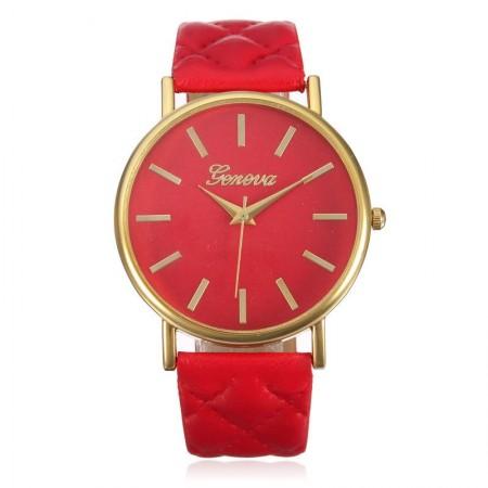 Relógio Fashion Feminino Colorido Grande Simples Acessorio Barato