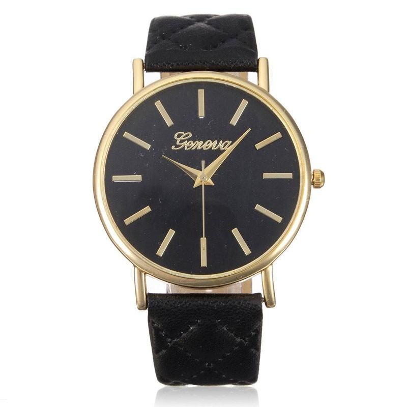 0191f91d993 Relógio Fashion Feminino Colorido Grande Simples Acessorio Barato