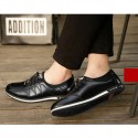 Sapatenis Social Smooth Leather Stylish Polished Style Male