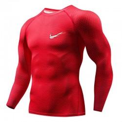 Camisa Manga Longa Masculina Estilo Esportiva Treinos de Marca