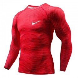 Men's Long Sleeve Shirt Sport Style Brand Drills