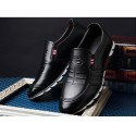 Men's Marerial Men's Casual Shoe Elegant Shiny Casual Leather