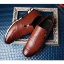 Sapato Social Masculino Marerial Couro Brilhante Elegante Casual