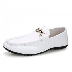Sapato Masculino Estilo Moderno Elegante Casual Couro Senhores Luxo