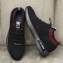 Tenis de Caminhada Masculino Cadaço Elastico Novo Modelo Esportivo