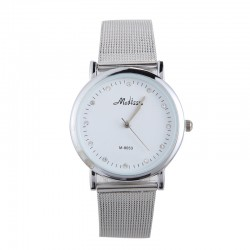 Watch Modern Women's White Silver Elegant Quartz Sophisticated