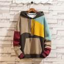 Colorful Geared Shredded Motifs Style Geometric Jackets