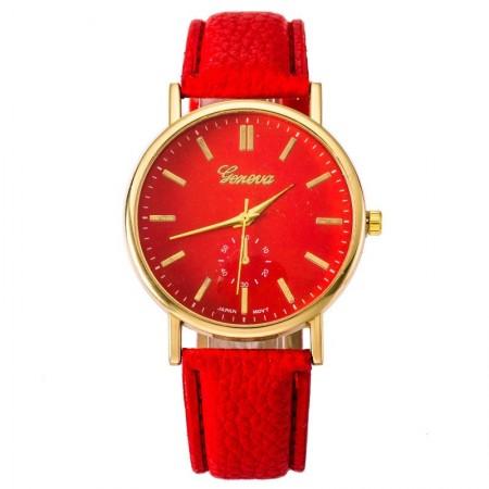 Relógio Feminino Clássico Casual Elegante Quartzo Fashion Barato