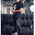 Calça Masculina Moda Fitness e Musculação Marombada Confortável