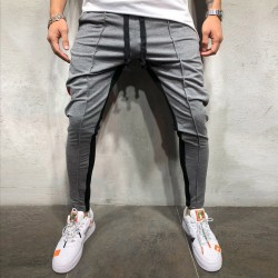 Men's Colorful Trousers Printed Striped Style New Fashion Boys