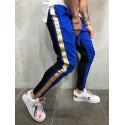 Calça Colorida Masculina Estampada Estilo Listrada Nova Moda Garotos