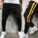 Calça Jogger Masculina Estampa Listrada Confortavel Moderna