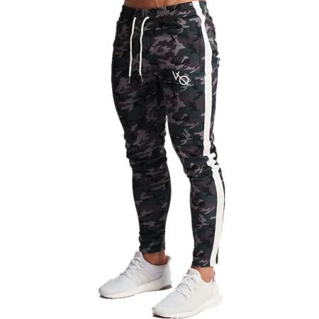 Calça Masculina Jogge Listrada Novo Modelos Fitness Confortável