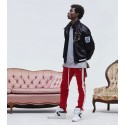 Pants Track Pant Male Model Striped Ziper Lataterais Sweatshirt