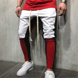 Calça Masculina Estilo Bonita Muito Confortavel Listrada Track Pant