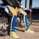 Calça Esportiva Motoqueiro Masculina Novo Modelo Listrada Colorida