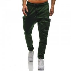 Men's Pants New Style Trainings Fashion Bodybuilding Patterned