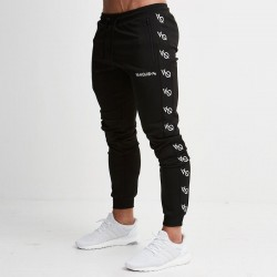 Pants Track Pant Male Sports Striped Workouts Bodybuilding