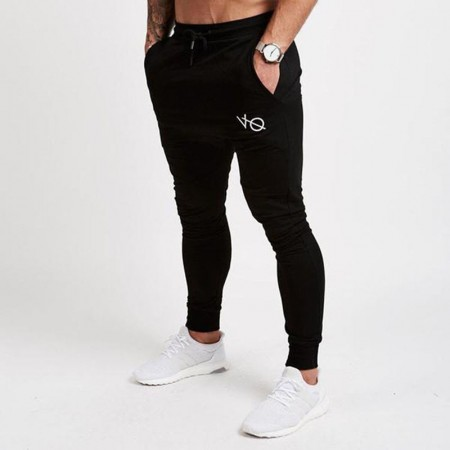 Pants Track Pant Male Sports Striped Workouts Bodybuilding