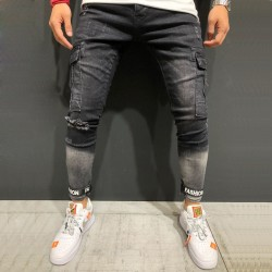 Pants Black Jeans Men's Party Style New Collection