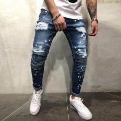 Calça Jeans Rasgada Masculina Varios Modelos Skinny