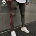 Men's Rock Scale Trousers With Pocket Swag Style Jeans