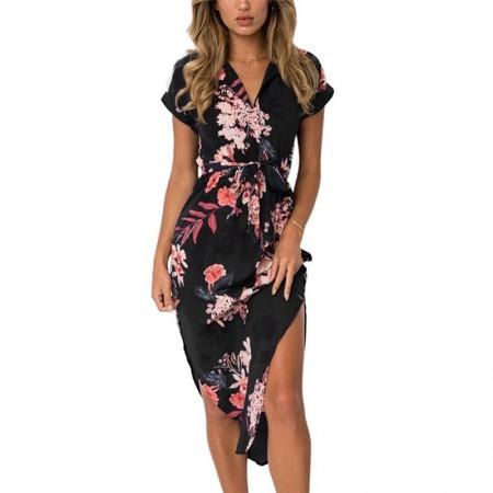 Beautiful Floral Print Women's Dress Beautiful Summer Collection